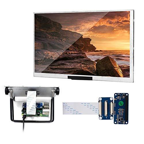 IPS-scherm, 7 inch IPS-scherm DPI-interface Drive Fit voor Raspberry Pi 1024x600 Resolutie, stabiele prestaties, Klein formaat, achtergrondverlichting kan worden uitgeschakeld