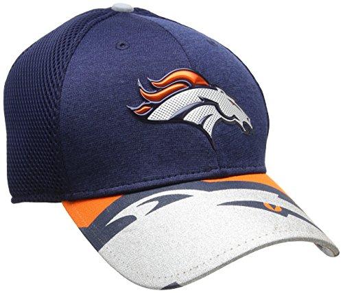 New Era Herren NFL 17 Official On Stage 39Thirty Denver Broncos Baseball Cap, blau (Marineblau), Medium
