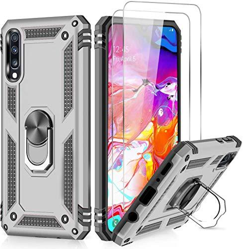 LeYi Funda Samsung Galaxy A50 / A30S / A50S con [2-Unidades] Cristal...