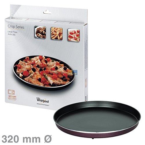 Bauknecht / Whirlpool Wpro Piatto Rotante Piatto Rotante Piatto Croccante Grande 32 Centimetri Rotondo microonde AVM305 4801310000000085