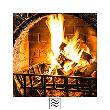 Smooth Sounds of Calming Fireplace