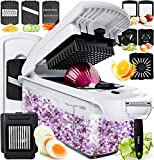 Fullstar Vegetable Chopper Dicer Mandoline Slicer - Food Chopper Vegetable Spiralizer Vegetable Slicer - Onion Chopper...
