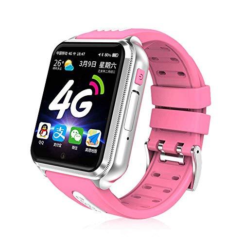RCTOYS Kinder SmartWatch Phone Smartwatches mit SOS Voice Chat Kamera Taschenlampe Wecker Digitale Armbanduhr Smartwatch Girls Boys Birthday,Rosa