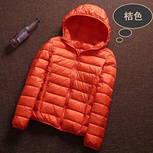YRFHQB Nieuwe Casual 90% Ultra Licht Wit Jas Vrouwen Herfst Winter Warm Jas Lady Plus Size Jassen Vrouwelijke Hooded Parka