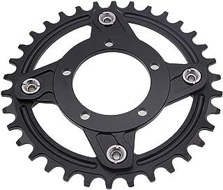 BDSNAIL Motor Bike Gear Adapter 36V/48V mid Drive Chainring Spider 104BCD 130BCD for bafang 8fun BBS01B BBS02B 250W 350W 450W 500W 750W 32T Kit