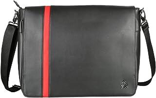 United Colors of Benetton 31 cms Black Laptop Messenger Bag (0IP6LBM01A04I)