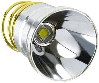 LED Flashlight Bulb XM-L2 Replacement Bulbs, LUXNOVAQ Drop-in P60 Design Module 1200LM 1 Mode Lamp Bulb Torch Repair Parts for Surefire Hugsby C2 G2 Z2 6P 9P G3 S3 D2 Ultrafire 501B 502B etc