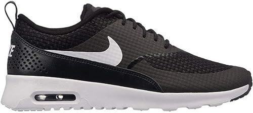 Nike Wmns Air Max Thea Prm, paniers Femme, Noir Noir (Noir Blanc Anthracite 024), 36 EU