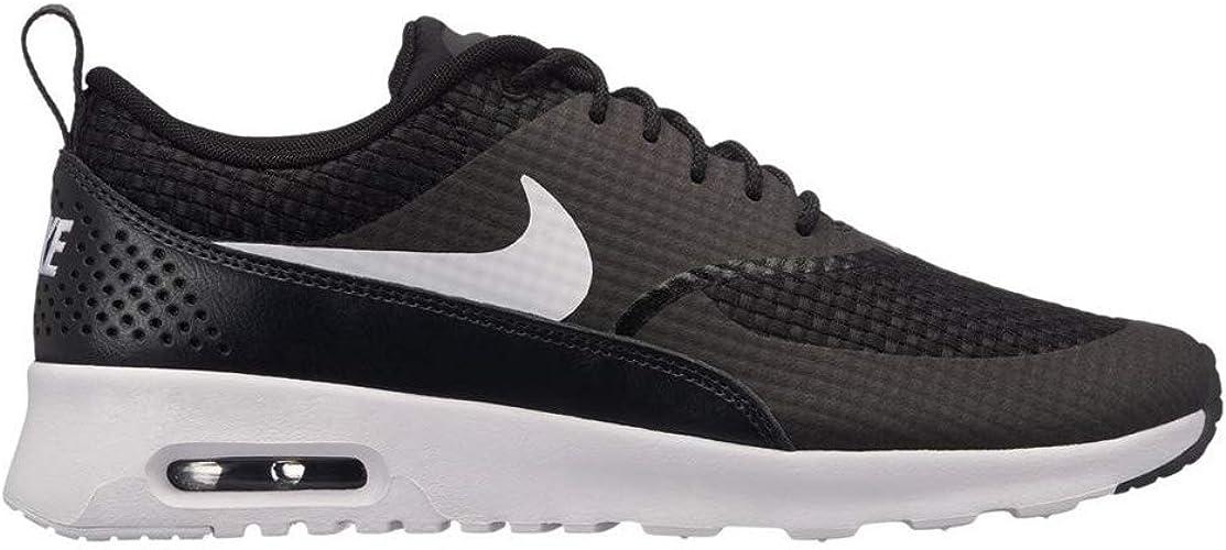Nike WMNS AIR Max Thea PRM, Baskets Femme, (Noir Blanc Anthracite 024), 37.5 EU