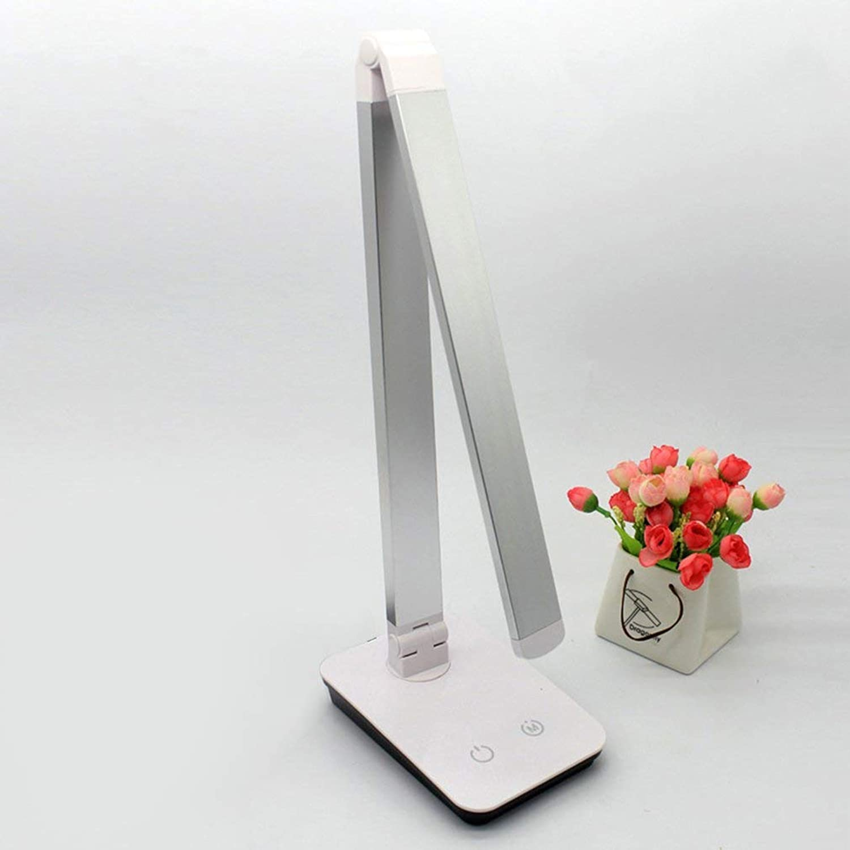 LNHYX Sensitive Touch Dimmer Schreibtischlampe Augenpflege Leselampe Mode Nachtlicht Folding Tragbare Tischlampe Für Büro Studie