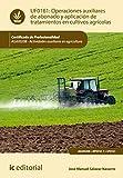 Operaciones auxiliares de abonado y aplicación de tratamientos en cultivos agrícolas. AGAX0208 (Spanish Edition)