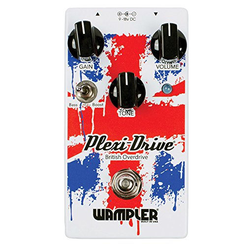 Wampler Pedals Plexi-Drive V2 British Overdrive Effects Pedal