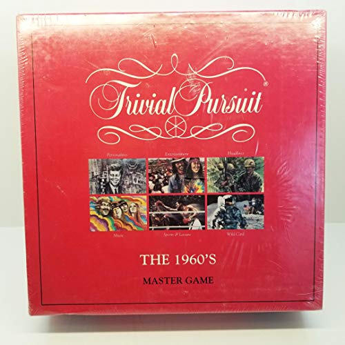 Trivial Pursuit The 1960's Master Game (Parker Brothers)