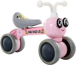 ベビーバランスバイク自転車/ベビースライディングウォーカーライド/ノーペダルクワッドバイク耐久性と安全性、子供向け自転車ウォーカーグッズ、ベビーカーライド1〜5歳、ベビーの誕生日プレゼント
