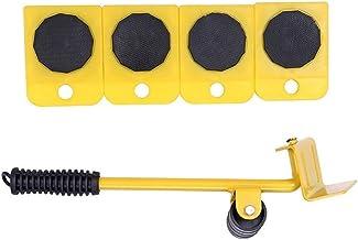 Zware meubels Movers, Lifter Slider 5-delig bewegend gereedschap, maximaal draagvermogen 150kg/330lbs, 360-graden draaibar...
