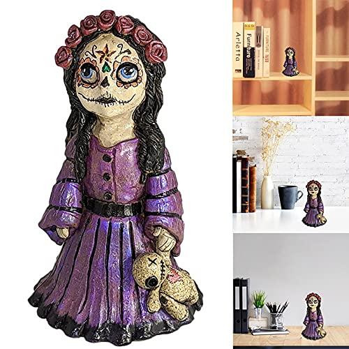 Goutui Voodoo - Quemador de incienso con forma de cono para decoración del hogar