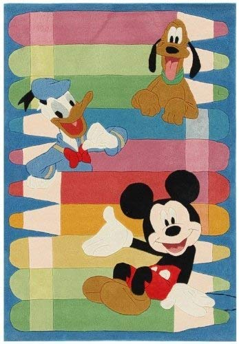 Galleria Farah1970 FR-18300-Tapis Marque originale de Disney Enfants Winnie & Ih-oh (168x115 Cm