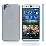 Case for HTC Desire Eye (Case by BoxWave) - Arctic Frost Crystal Slip, Flexible, Form Fitting, TPU Case for HTC Desire Eye - Frosted Clear