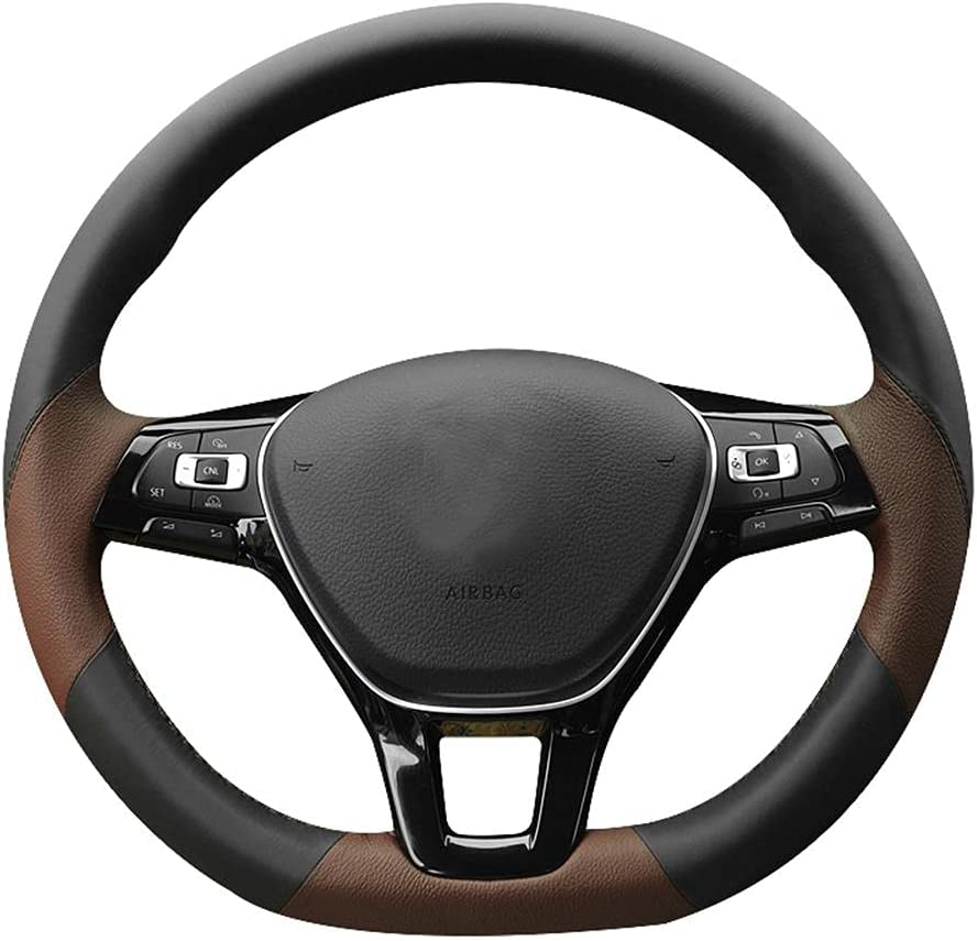 HSHKONG Max 72% OFF DIY Fort Worth Mall Handmade Custom Steering Protective Cover Wheel for