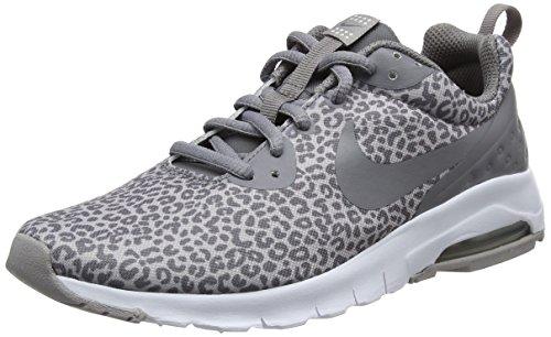 Nike Air Max Motion LW PRT GS Gymnastikschuhe, Grau (Atmosphere Grey/Gun Smoke/White 002), 36.5 EU