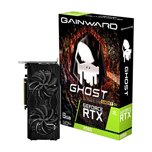 Gainward 426018336-4412 GeForce RTX 2060 6 GB GDDR6 - Grafikkarten (GeForce RTX 2060, 6 GB, GDDR6, 192 Bit, 7680 x 4320 Pixel, PCI Express x16 3.0)