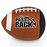 Passback Peewee Composite Football, Ages 4-8, Elementary Training Football