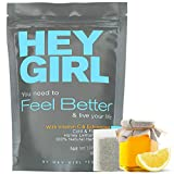 Feel Better Herbal Tea - Immune Support , Immune Booster w/ Echinacea , Elderberry , Vitamin C ,...