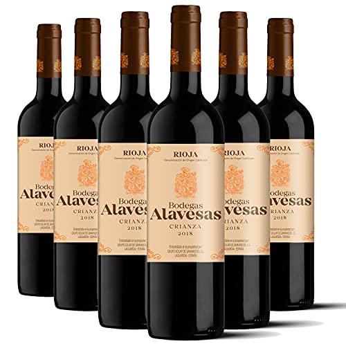 Bodegas Alavesas – Vino Tinto Crianza 2018 Denominación de Origen Calificada Rioja,...