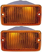 Turn Signal Light compatible with Jeep Wrangler 97-00 RH or LH On Front of Fender (Set of 2) Left or Right Side