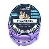 PheroPet Collar Calmante para Gatos - Feromonas para Gatos, Alivia la ansiedad, tranquilizante Natural (2 Unidades)