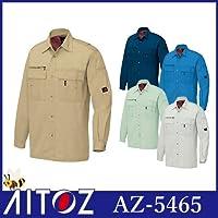 長袖シャツ カラー:006ブルー サイズ:L