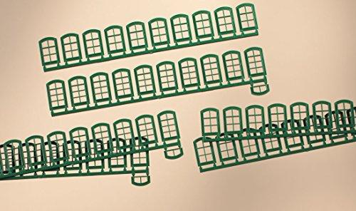 Auhagen 80209.0 - Fenster, grün
