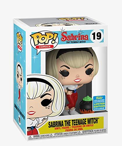 Funko POP! Sabrina, cosas de brujas: Sabrina con un caldero Exclusivo