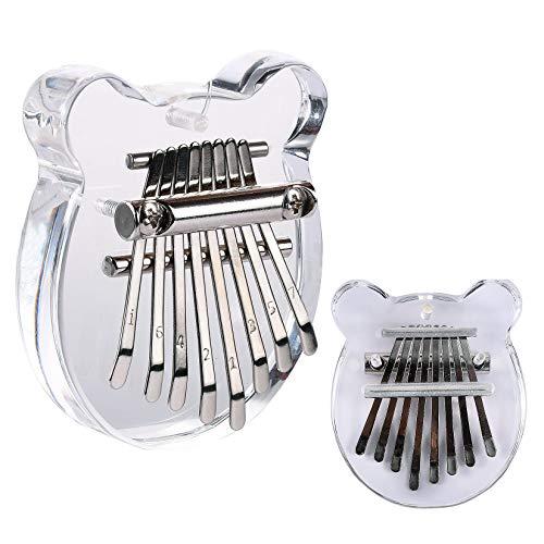FGen Mini piano de pulgar, Kalimba de madera profesional, Instrumento de piano...