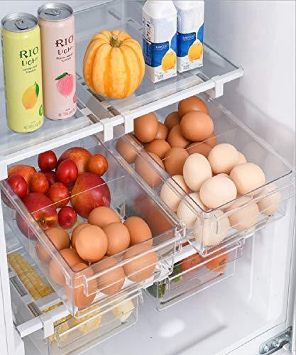 Natur Pur Kühlschrank Organizer Ordnungssystem zur Aufbewahrung Küche - Aufbewahrungsbox transparent Lebensmittel frischhalte Kunststoff Kitchen Gadgets, The Container Store, Fridge Regal, Box