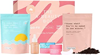 Frank Body Limited Edition A-Beauty Box From Australia | Includes Original Coffee Scrub, A-Beauty Body Scrub, Go-To's Face...