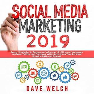 Social Media Marketing 2019 cover art