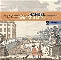 ヘンデル: 合奏協奏曲、ヴァッセナール: コンチェルト・アルモニコ トン・コープマン & アムステルダム・バロック・オーケストラ(2CD)