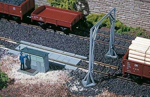 Auhagen - 13313 - Modélisme Ferroviaire - Bâtiment - Bascule À Wagons avec Gabarit De Chargement