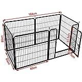 Zoom IMG-1 yaheetech recinto per cani cuccioli