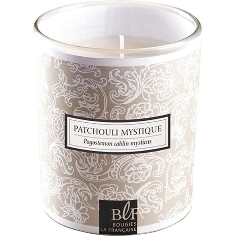 ブジ?ラ?フランセーズ クインテッセンスキャンドル ミスティックパチョリの香り 燃焼時間約40時間 フランス製