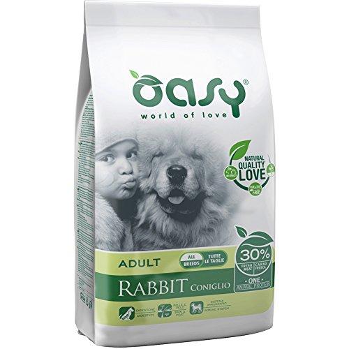 Oasy Dry Dog One - Adult Coniglio 12 kg.