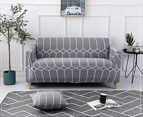 Allenger Funda de Sofá Poliéster,Funda de sofá elástica Estampada, Funda de sofá con Todo Incluido, Lavable a máquina, Funda de sofá antiincrustante-Blogs_235-300cm
