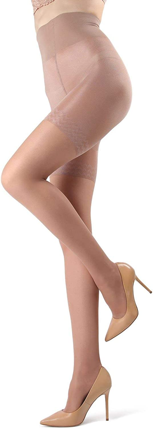 MeMoi High Waisted Body Slimming Tights