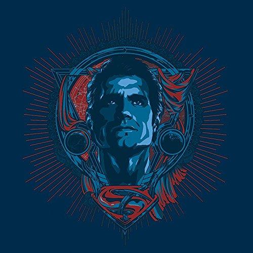 Batman V Superman – Superman – Profil 40 x 40 cm Toile, Multicolore