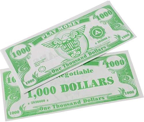US Toy Very popular Play Money $100 Dollar Bill 6 inches 2 Philadelphia Mall 000 x 1 pcs
