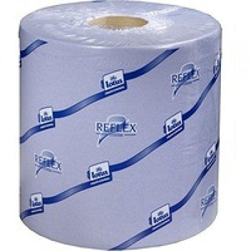 Tork 473263 Reflex 2-laags toiletpapier, 150 m, blauw (6 rollen)