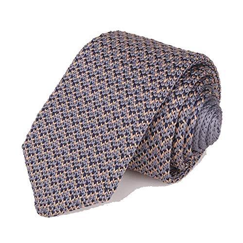 Tie Freizeit Spitz Mode-Geschäfts-Kleid Casual Wear mit Wollkrawatte Herren Knit-Bindung (Color : 03, Size : 148cm*6cm*4cm)