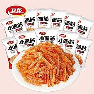 12Pack Wei Long Xiao mian jing Latiao 卫龙小面筋 辣条 香辣小吃经典怀旧素肉零食