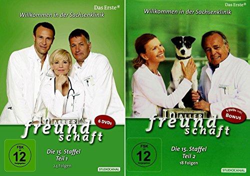 In aller Freundschaft - Staffel 15 Komplett (Teil 15.1+15.2) * DVD Set